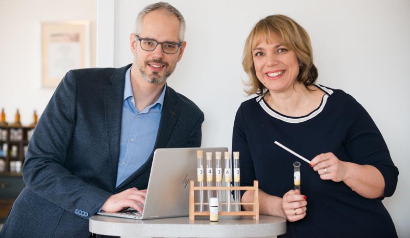 Foto von Bernhard und Ingrid